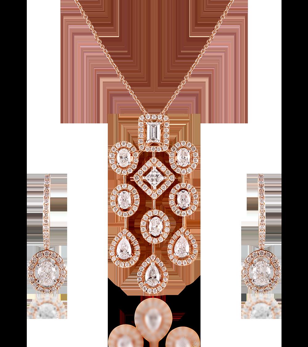 Hazoorilal Legacy Jardin Diamond Collection