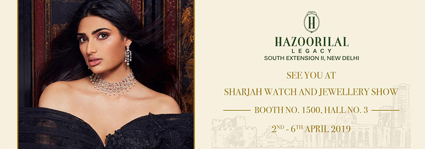 Sharjah Watch and Jewellery Middle East Show April, 2019