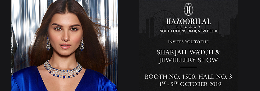 Sharjah Watch and Jewellery Middle East Show, Oct 2019